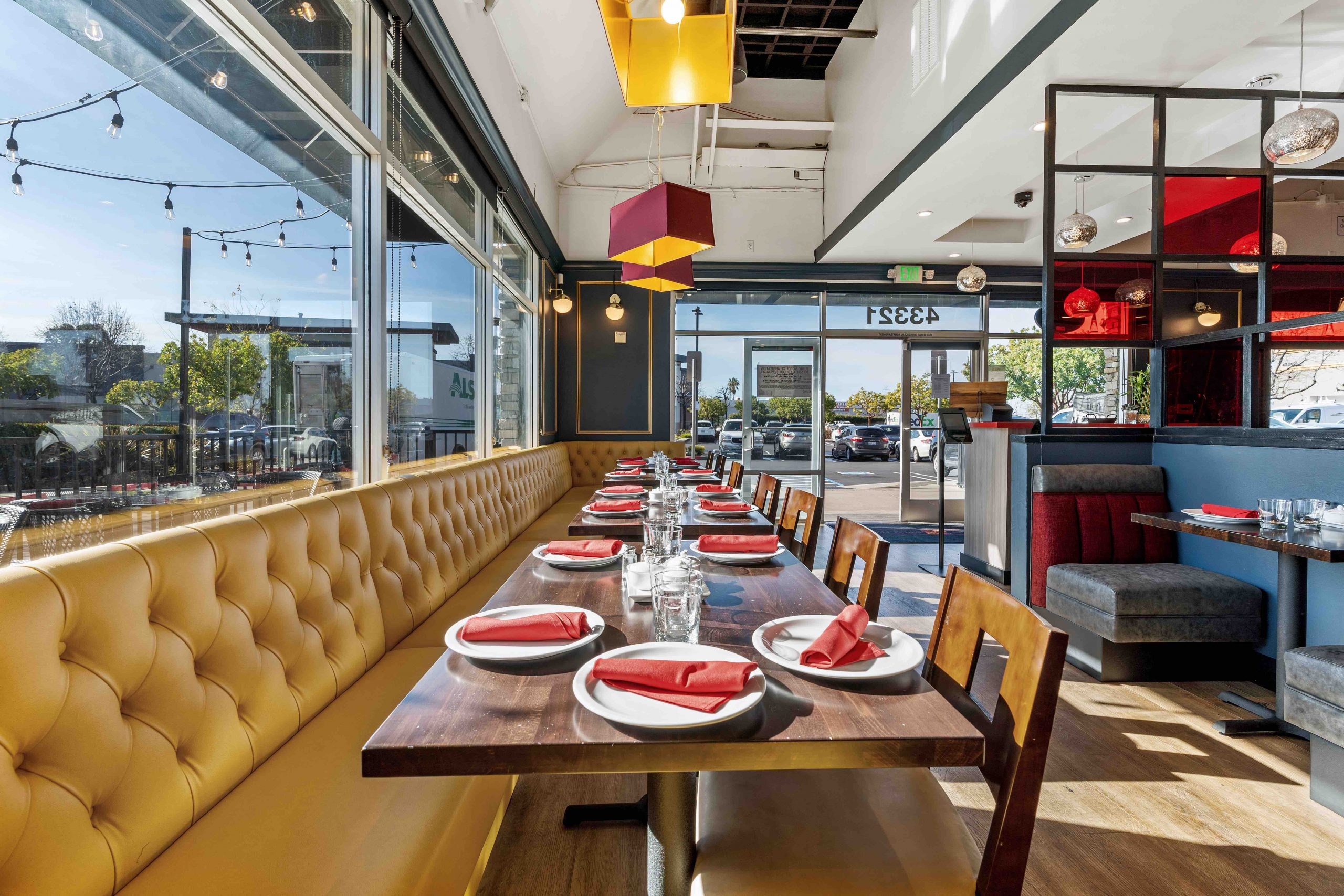 Contemporary Dining Room at Red Hot Chilli Pepper Fremont